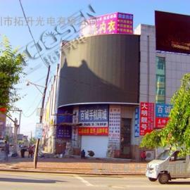 装在楼顶的LED广告显示屏用p10的就可以了吧
