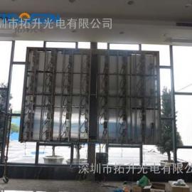 酒店大厅p5视频广告播放LED显示屏安装价格