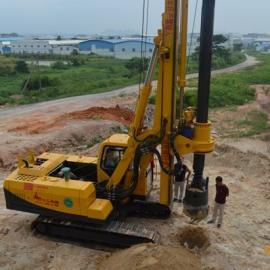 供应干钻水钻旋挖钻机履带式新农村建设型