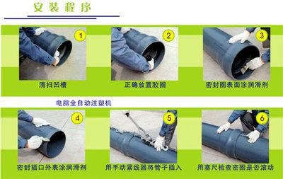 供应优质PVC-M给水管20mm-1600mm