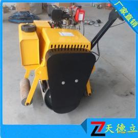 铺路用小型压路机600型单钢轮双十一特惠来袭手扶式压路机