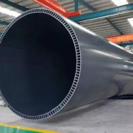 生产PVC-U中空壁排水管材