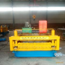 厂家供应全自动双层压瓦机 840/900彩钢压瓦机设备