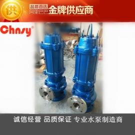 不锈钢污水泵制造商:优质不锈钢304潜水排污泵WQP型