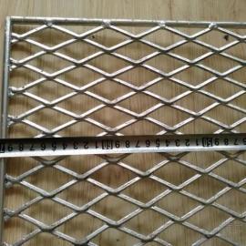 钢板网-江阴拉伸5.0厚钢板网片|钢笆踏板|菱形钢板防护网