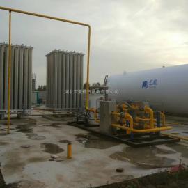 供应百亚2000立方LNG气化站设备 天然气减压供气站
