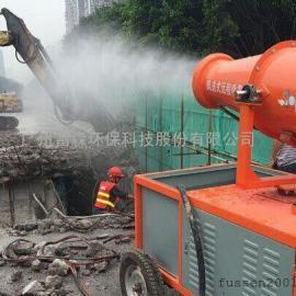山东济南风送式降尘喷雾机厂家 FS-400D/60