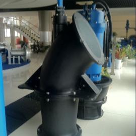 蓝深混/轴流泵悬吊式安装介绍