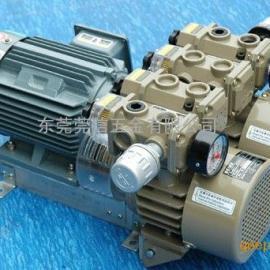 好利旺标准型真空泵泵KRX7A-P-B-03风泵气泵 单泵双泵吸气泵