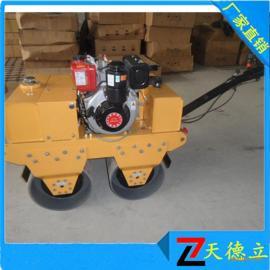 SL600C手扶双轮柴油压路 筑路工程用小型压路机