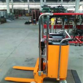 配重式 电动堆高叉车 无支腿半电动液压堆高车 液压升高车