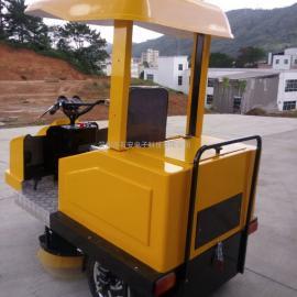 厂家直销电动扫地车扫地机清扫车清扫车-自动洒水清扫吸尘收集