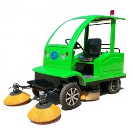 自动洒水吸尘小型电动扫地车扫地机清扫车电动扫路车