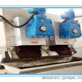 叠螺机在沼气发酵污泥中的应用