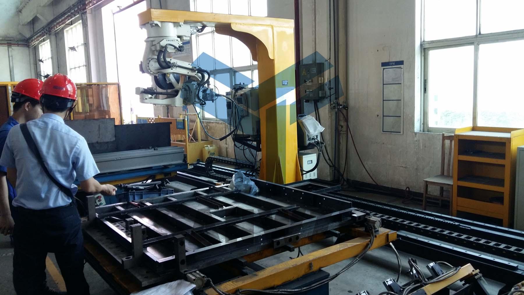电梯组对工装夹具,手扶梯升降梯焊接柔性工装夹具