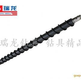 R780材质高扭矩地质螺旋钻杆 深孔钻探钻杆φ98螺旋钻杆