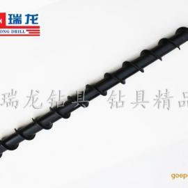 瑞龙钻具专业生产φ80-50钻采工具地质螺旋钻杆/锥扣连接