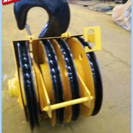 50T吊钩组50吨亚重轧制滑轮吊钩组行车起重吊钩组G887