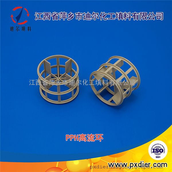 DN50塑料高流环 聚丙烯高流环 PP高流环 高流环价格