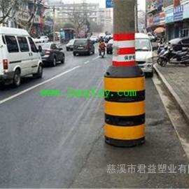 电杆防撞墩定制 杭州警示防撞墩