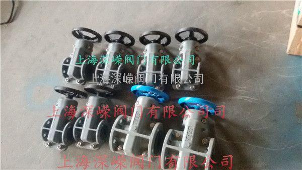 旋流器专用管夹阀,高分子进口美国NTG管夹阀