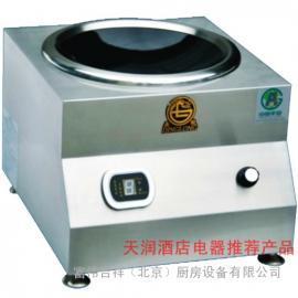 鼎龙台式电磁小炒炉DL-8KW-E 大功率商用电磁炉