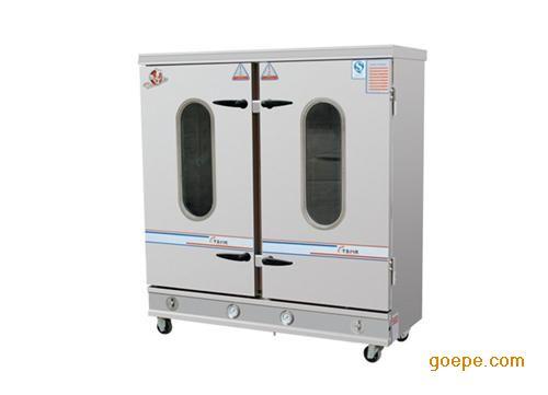 蒸饭车订做批发_美克厨房设备(图)_三开门蒸饭车