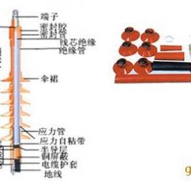 百色35KV热缩单芯户内电缆终端头NRSY-35/1.1