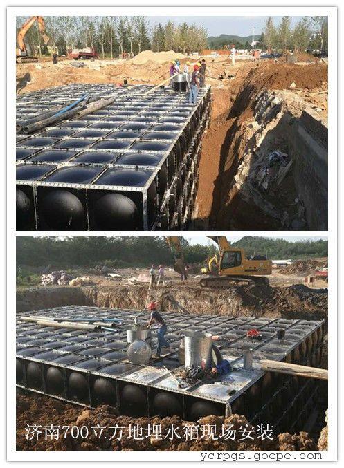 润平不锈钢装配式水箱、地埋式水箱、BDF装配式地埋水箱