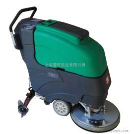 手推式电动清洗机酒店物业保洁用洗地机车库用清洗机