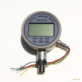 数字压力表NPD100 全不锈钢电接点耐震压力表