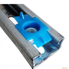 厂家供应ANS-M6不锈钢弹簧螺母 高质量不锈钢异型螺母