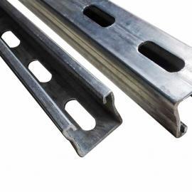 厂家直销 尺寸:41*41*2.0 热浸锌 c型钢 光伏支架