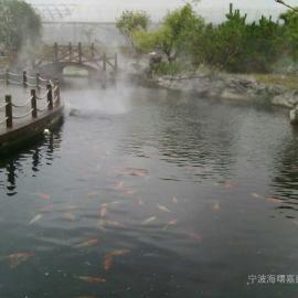 景区园林景观造雾设备-中国5A假山温泉雾森设备系统工程