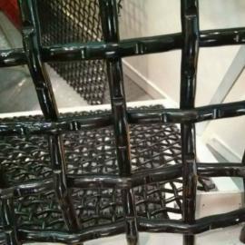淮南镀锌钢丝矿筛轧花网 矿用方眼钢丝网 防尘隔离围栏用途