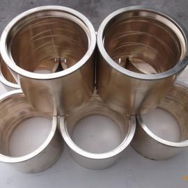 锡青铜铜套在回转窑挡轮上的应用