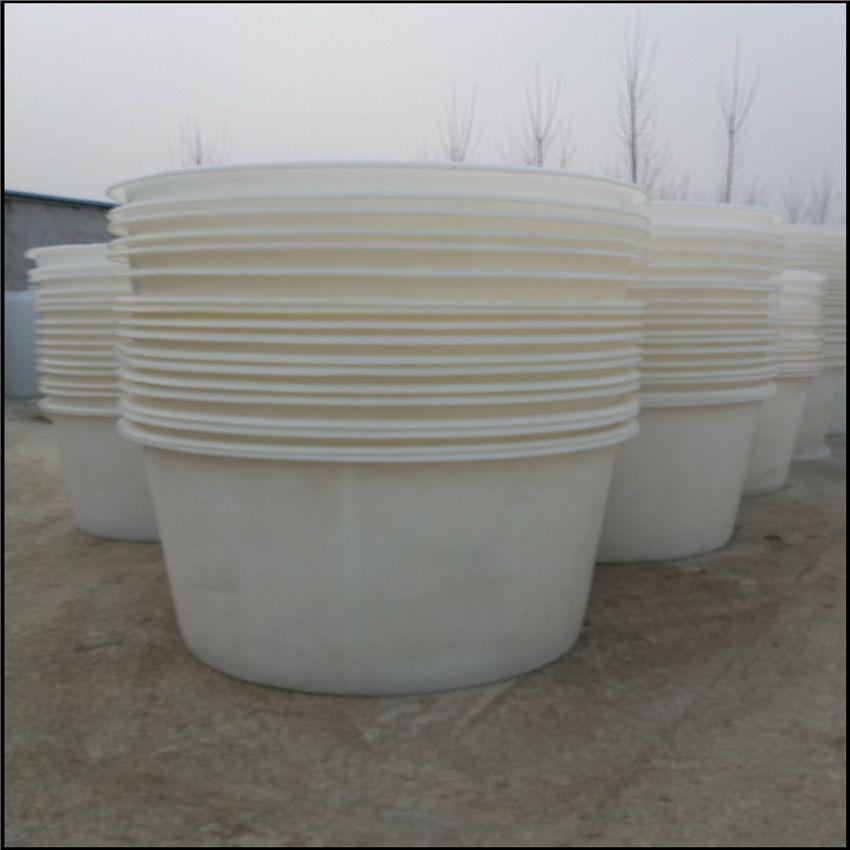 酱菜厂用2000公斤塑料腌菜缸聚乙烯PE材质2吨敞口圆桶带阀门