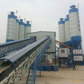HZS90商品混凝土��拌站,采用�p�P�S��制式��拌�C.