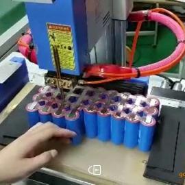 太阳能路灯电池自动点焊机宝龙焊机