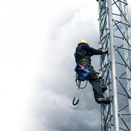 通讯塔防坠落生命线系统~通讯塔垂直生命线防坠落系统