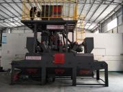 履带输送式抛丸机-平面输送式抛丸机-铝型材平面输送抛丸机