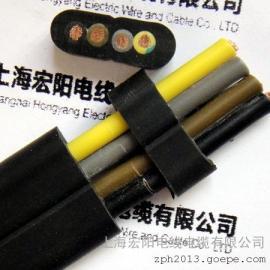 天车扁电缆--扁平电缆,电动平车电缆价格、上海宏阳制造