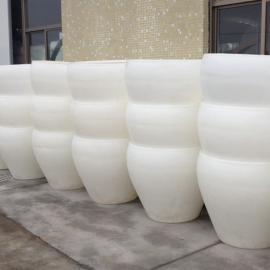 1吨耐酸碱塑料圆桶 防晒耐老化晒酱桶 食品加工塑料包装桶