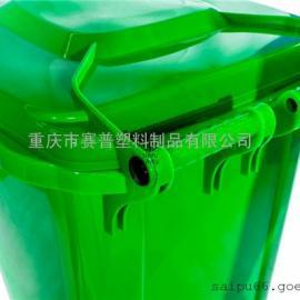 全新防滑防刮环卫垃圾桶 耐磨损垃圾桶 塑料材质垃圾桶