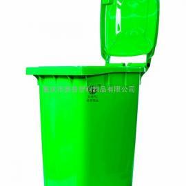 120升分类塑料垃圾桶现货