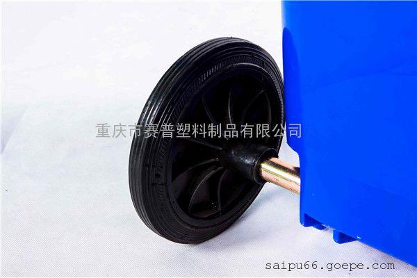 重庆SHIPU品牌分类垃圾桶 天奇物业配套小区塑料垃圾桶