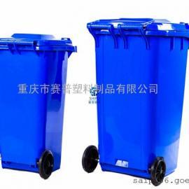 重庆SHIPU品牌分类垃圾桶 洪泉物业配套小区塑料垃圾桶