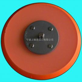 气动打磨机底盘 5寸气动托盘 125mm气动砂纸机底盘-软