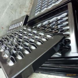汽车防滑板#鳄鱼嘴冲孔防滑板#恒恩冲孔网厂金属防滑板定做