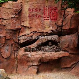 四川欢乐谷主题景观设计|GRB假山|GRC假树|仿真假树